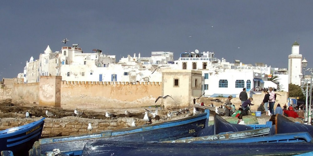 Essaouira une galerie d'art à ciel ouvert